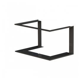 Zazdívací rámeček 1x90° černý BeF Trend V8C
