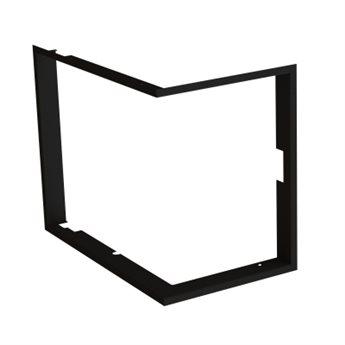 Zazdívací rámeček čtyřstranný 1x90° FLAT rohová
