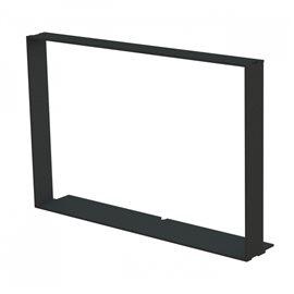Zazdívací rámeček rovný bez lemu 6mm, BeF Aquatic WH V 60, V 65, V 80, V 85