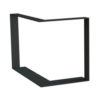 Zazdívací rámeček rovný bez lemu, BeF Feel rohová