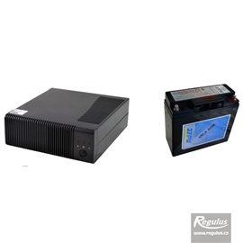 Zdroj záložní Regulus PG500 + akumulátor 18Ah