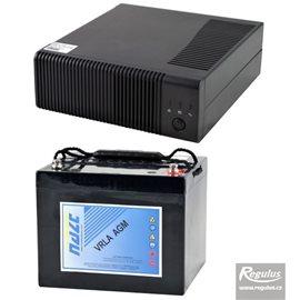 Zdroj záložní Regulus PG500 + akumulátor 44Ah
