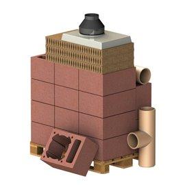 ALMEVA Komplet komín CLASSIC 1V, DN 160, 90°, základní set