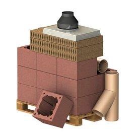 ALMEVA Komplet komín CLASSIC, DN 180, 45°, základní set