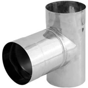 Kouřovod T-kus 90° Ø180 mm - 2 mm (Karl)